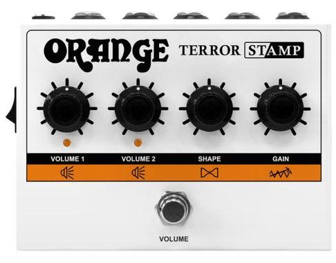 Full view of an Orange Terror Stamp - 20w Valve Hybrid Guitar Amp Pedal