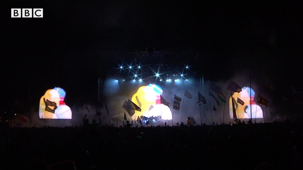Adam Smith, co-creative director of the live show The Chemical Brothers, recounts two iconic Glastonbury performances from 2000 and 2019 in this video published by BBC MUSIC