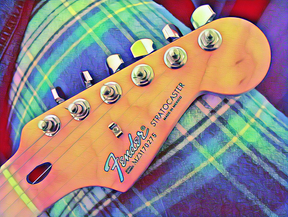 Fender Stratocaster, the legendary Guitar