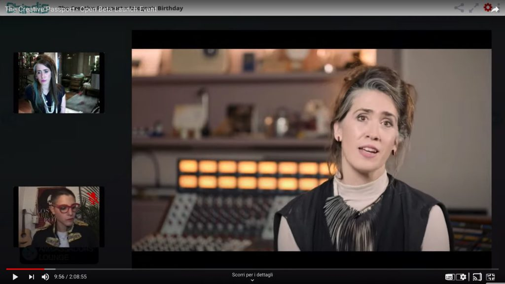 Imogen Heap @  The Creative Passport - Beta Launch